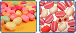 Euromec Kaubonbon Produkte